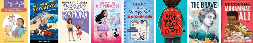 Growing Up Chapter Books 8-12 years old