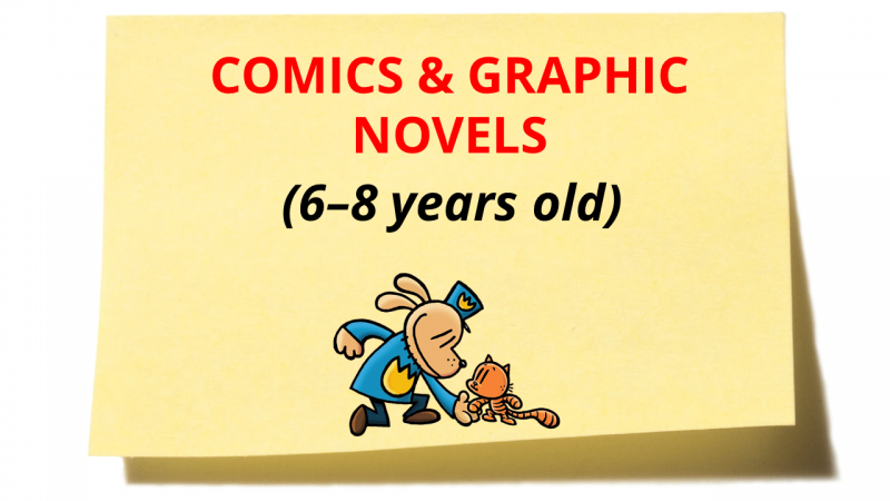 Great Reads for the December Holidays: Comics & Graphic Novels 6-8 years